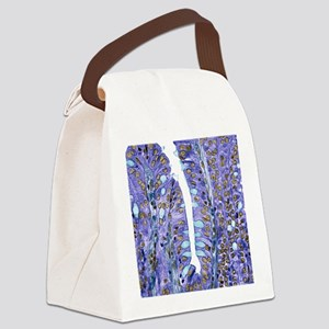 Small intestine lining, light mic Canvas Lunch Bag
