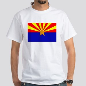 Arizona Flag White T-Shirt