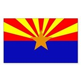 Arizona state flag Single