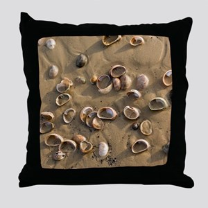 Slipper Limpet (Crepidula fornicata) Throw Pillow