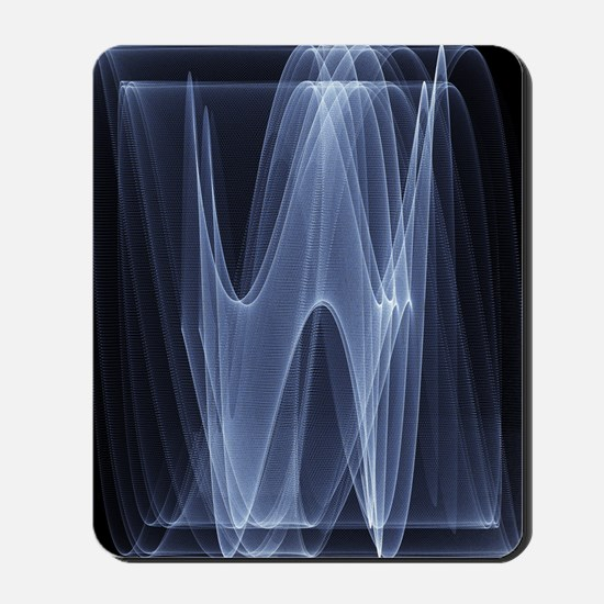 Sine waves Mousepad