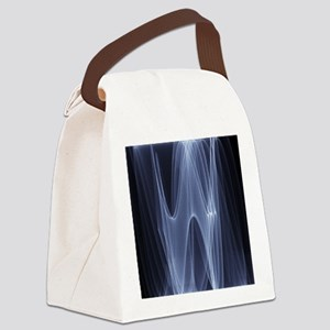 Sine waves Canvas Lunch Bag