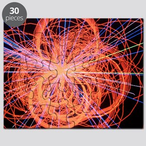 Simulation of Higgs boson production Puzzle