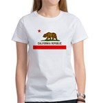 California Flag Women's T-Shirt