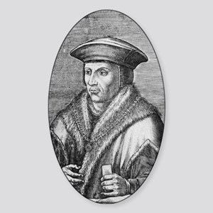 Sir Thomas More, English statesman Sticker (Oval)