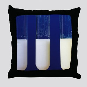 Silver compounds Throw Pillow