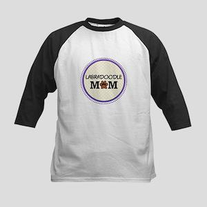 Labradoodle Dog Mom Baseball Jersey