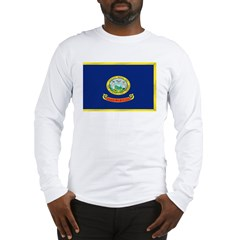 Idaho Flag Long Sleeve T-Shirt