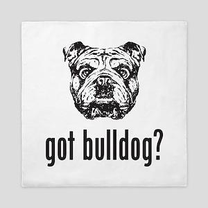 Got Bulldog? Queen Duvet