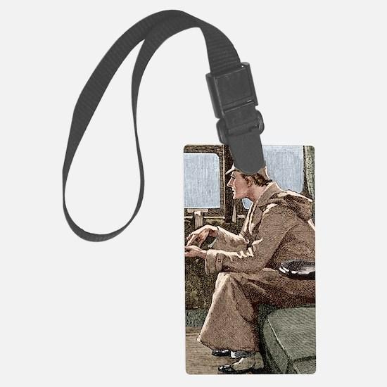 Sherlock Holmes Luggage Tag