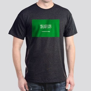 Saudi Arabia Flag Dark T-Shirt