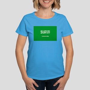 Saudi Arabia Flag Women's Dark T-Shirt