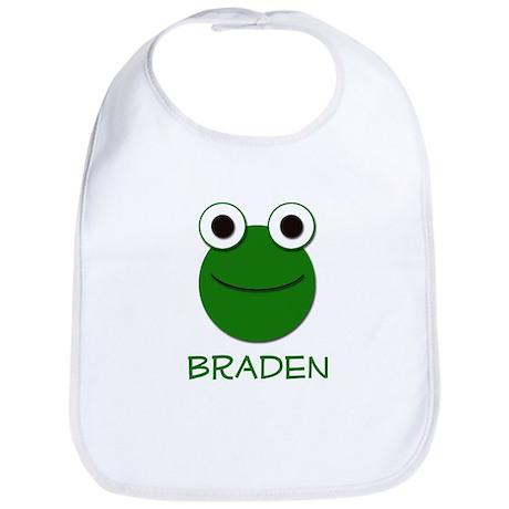 Braden Frog Face Bib