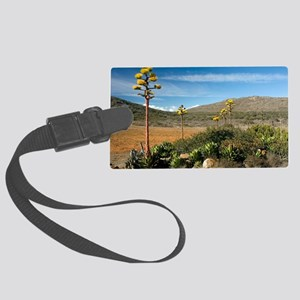 Shaw's agave (Agave shawii) Large Luggage Tag