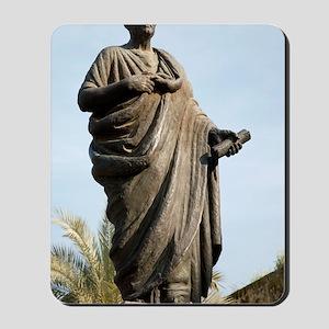 Seneca, Roman statesman Mousepad