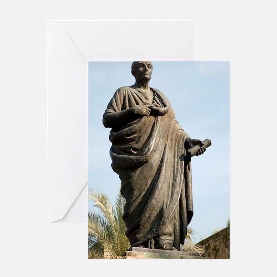 Seneca, Roman statesman Greeting Card