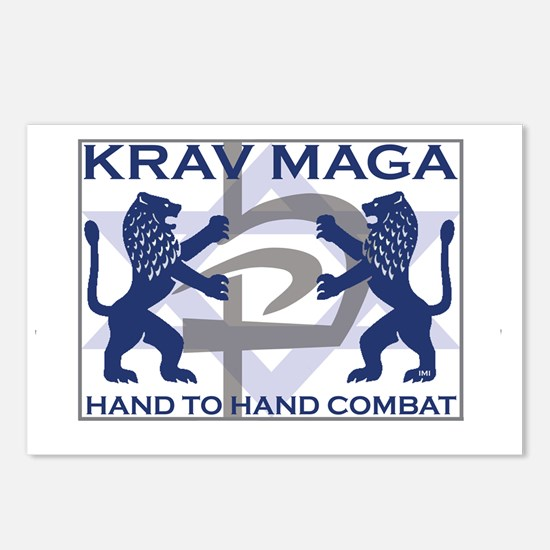 Krav Maga Hand to Hand Co Postcards (Package of 8)