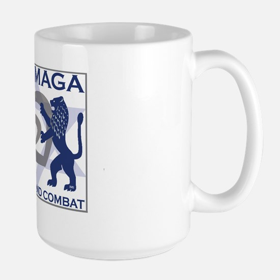 Krav Maga Hand to Hand Combat Large Mug