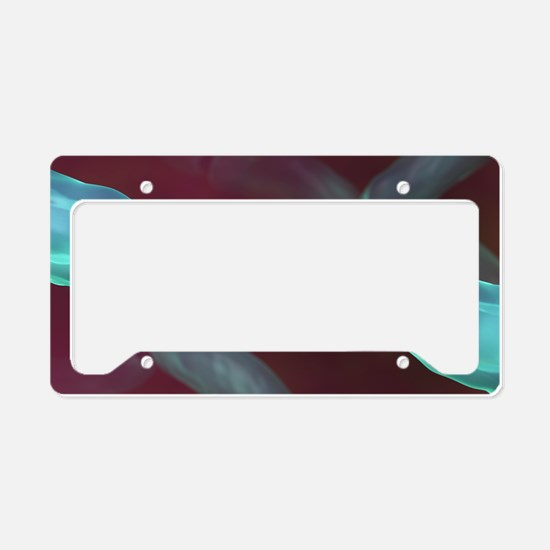 Severed nerve, artwork License Plate Holder