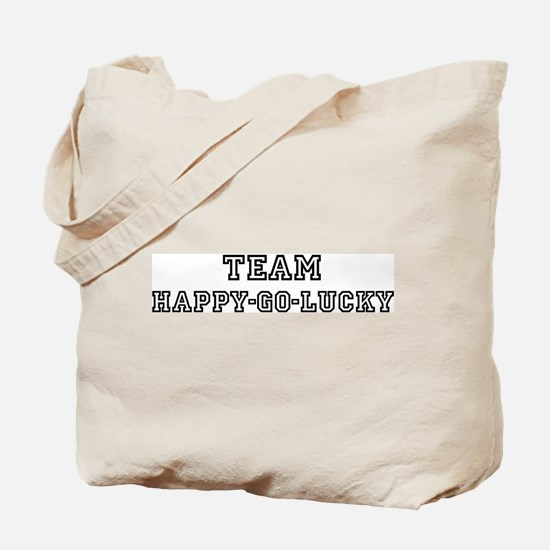 Team HAPPY-GO-LUCKY Tote Bag
