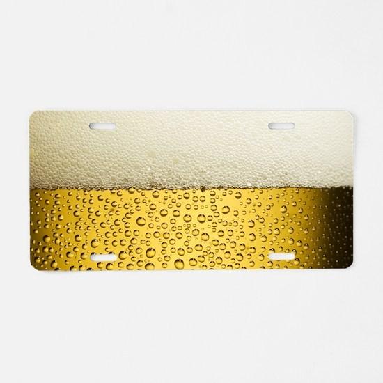 Suds Aluminum License Plate
