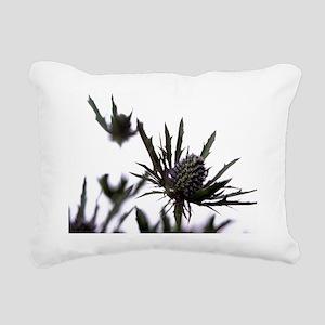Sea holly Rectangular Canvas Pillow