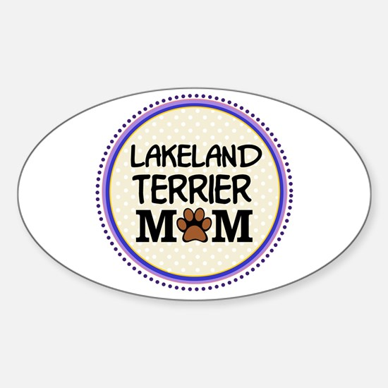 Lakeland Terrier Dog Mom Decal