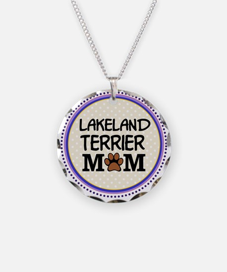 Lakeland Terrier Dog Mom Necklace