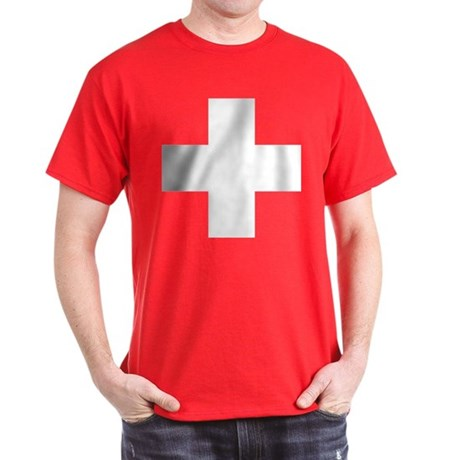 Switzerland Flag Dark T-Shirt