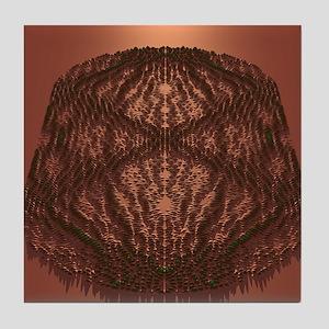 Scarred quantum wave Tile Coaster