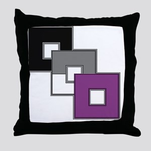 Asexual Pride Throw Pillow