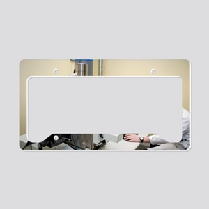 Scanning electron microscopy License Plate Holder