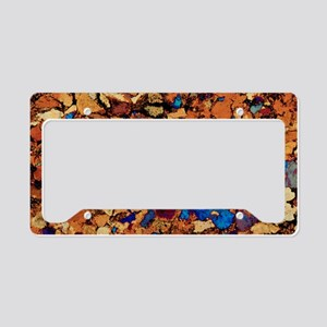 Sandstone, thin section, pola License Plate Holder
