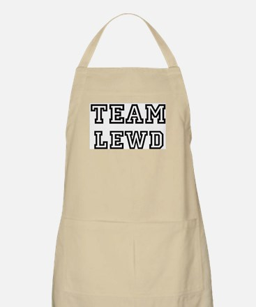 Team LEWD BBQ Apron