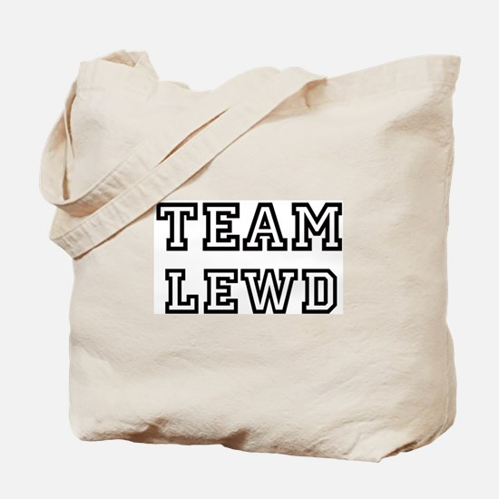 Team LEWD Tote Bag