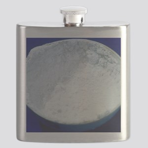 Salt crystals Flask