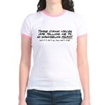 Listen to the Voices Jr. Ringer T-Shirt