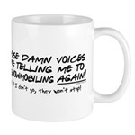 Listen to the Voices Mug