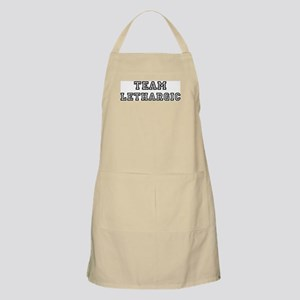 Team LETHARGIC BBQ Apron