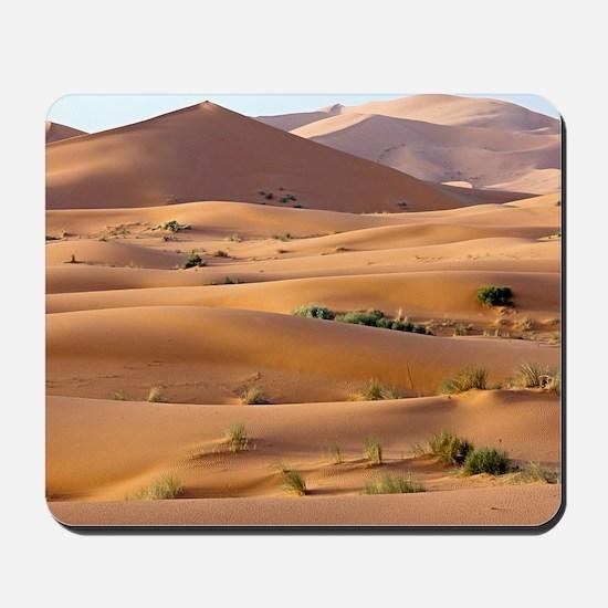 Saharan sand dunes Mousepad