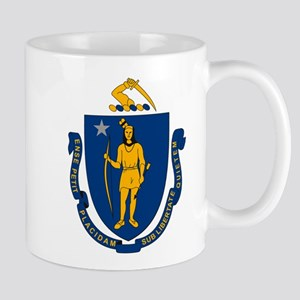 Massachusetts Flag Mug