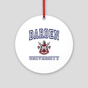 BARDEN University Ornament (Round)
