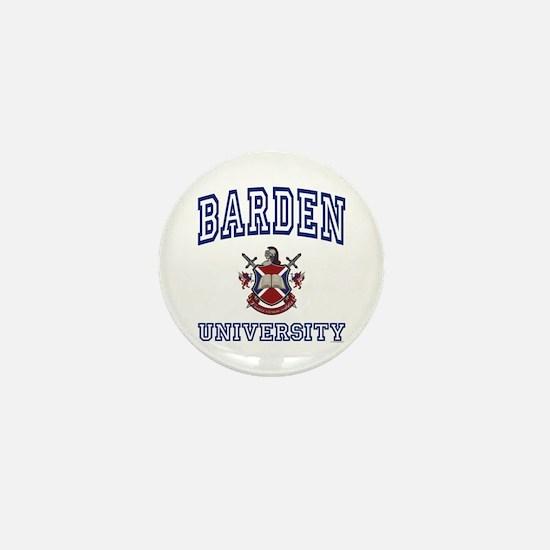 BARDEN University Mini Button