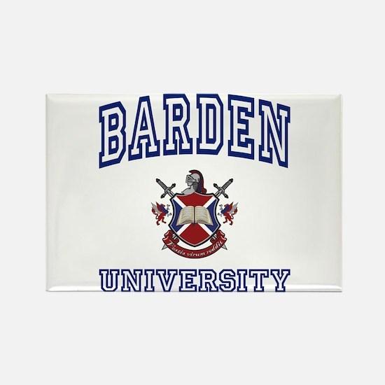 BARDEN University Rectangle Magnet