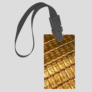 Russian gold bullion Large Luggage Tag