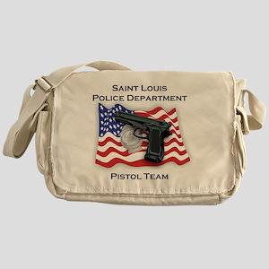 Police Pistol Team Messenger Bag
