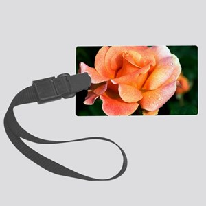 Rose (Rosa 'Can-Can') Large Luggage Tag