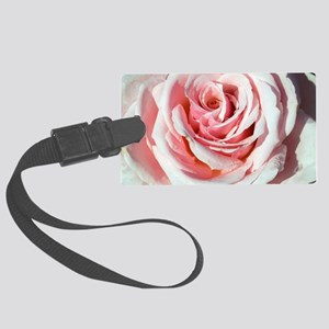 Rose (Rosa 'Savoy Hotel') Large Luggage Tag