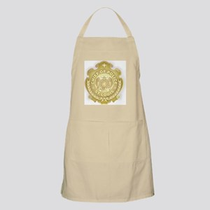 Chief of Police 3d Metallic Apron
