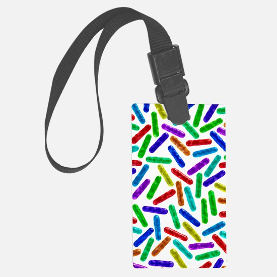 Rod-shaped bacteria Luggage Tag